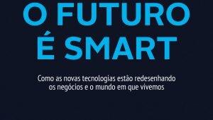"""Capa do livro """"O futuro é Smart"""", de André Telles."""