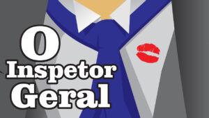 """cartaz da peça """"O inspetor geral"""""""