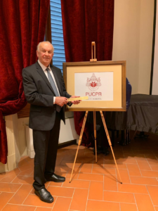 Reitor Waldemiro Gremski da PUCPR na inauguração Câmpus Florence
