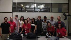 Estudantes e professores da universidade norte-americana Kent State University vêm à PUCPR para estudos