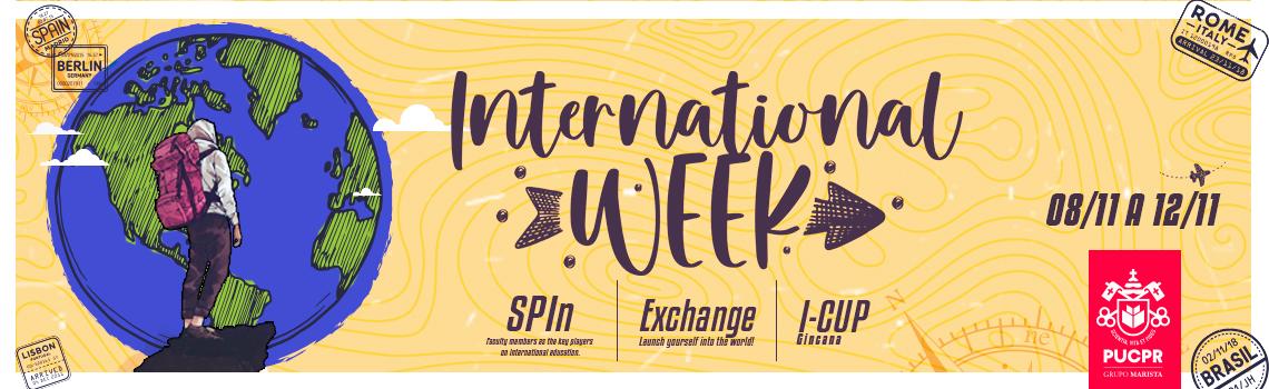 Clique para acessar o International Week